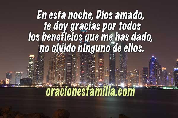 Oración de la noche con el Salmo 103, bendice alma mía a Jehová,   oraciones cristianas para la noche por Mery Bracho.