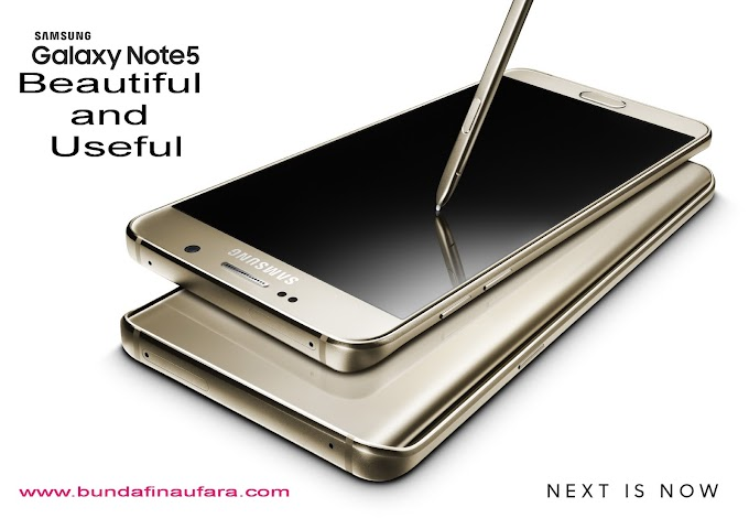 Samsung Galaxy Note 5, Beautiful and Useful