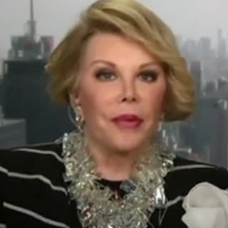 Joan Rivers gets annoyed