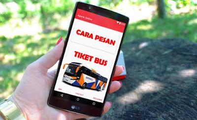 Cara Mudah Pesan Tiket Bus Online Melalui Android