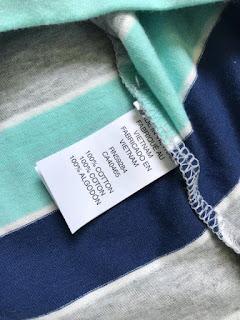 Áo thun có cổ Children Place, made in vietnam, thun 100% cotton, size 4-14T.