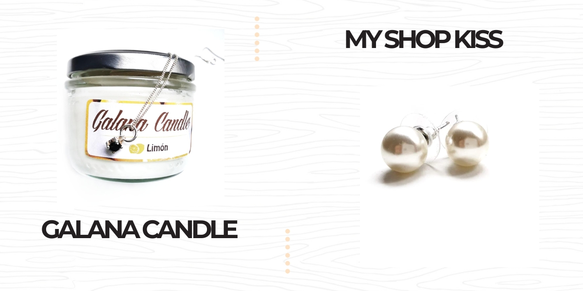 GALANA CANDLE, MY SHOP KISS,