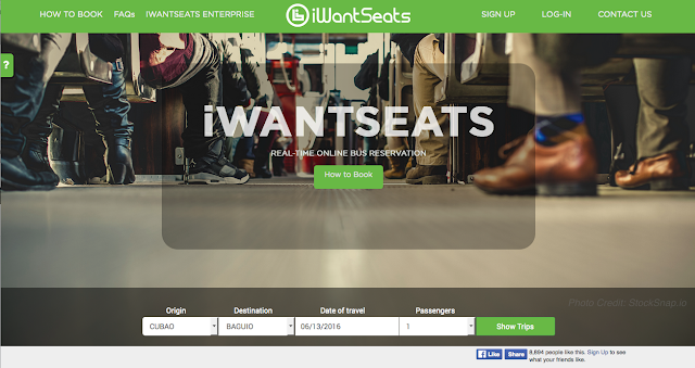 Secure your seat via iWantSeats