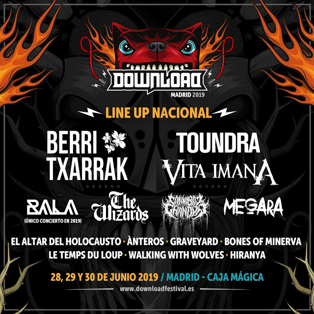 MetalKorner - DOWNLOAD MADRID: Escucha las bandas nacionales