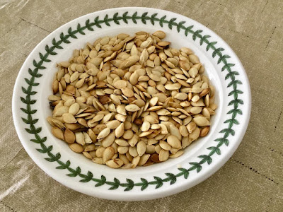 acorn squash roasted seeds