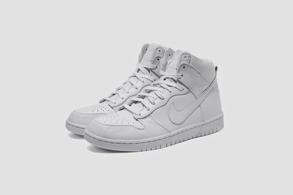 "biggest discount best quality fast delivery FEELFREEARTZ: Nike Lunar Dunk High SP ""Mono"" Pack / adidas ..."