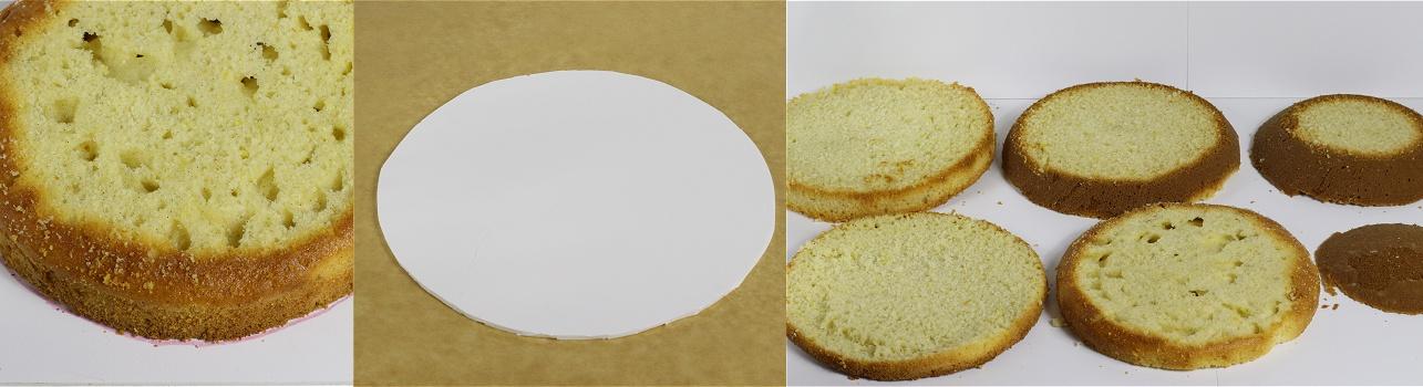 Baseball Cap Cake - Baseballkappen-Motivtorte - Kappen-Torte Anleitung 3