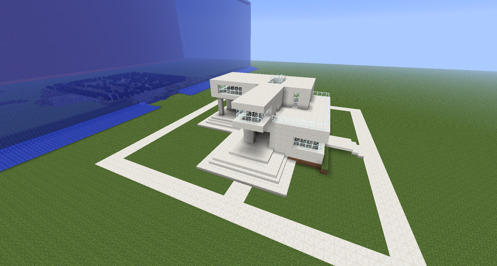 Arquitectura en minecraft for Casas modernas minecraft faciles