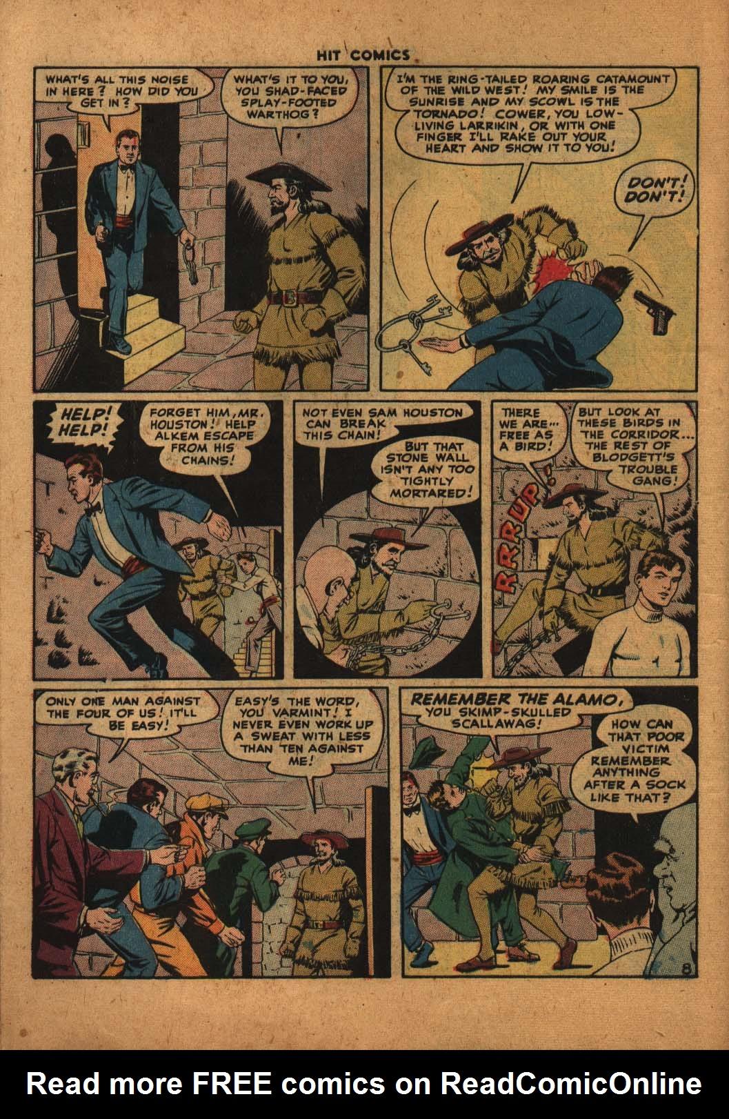 Read online Hit Comics comic -  Issue #47 - 9