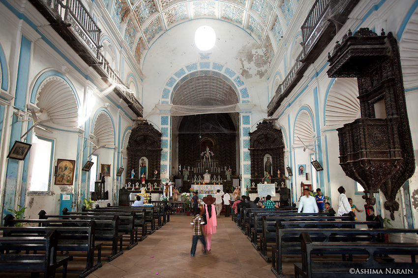 St Paul's Church Diu, India