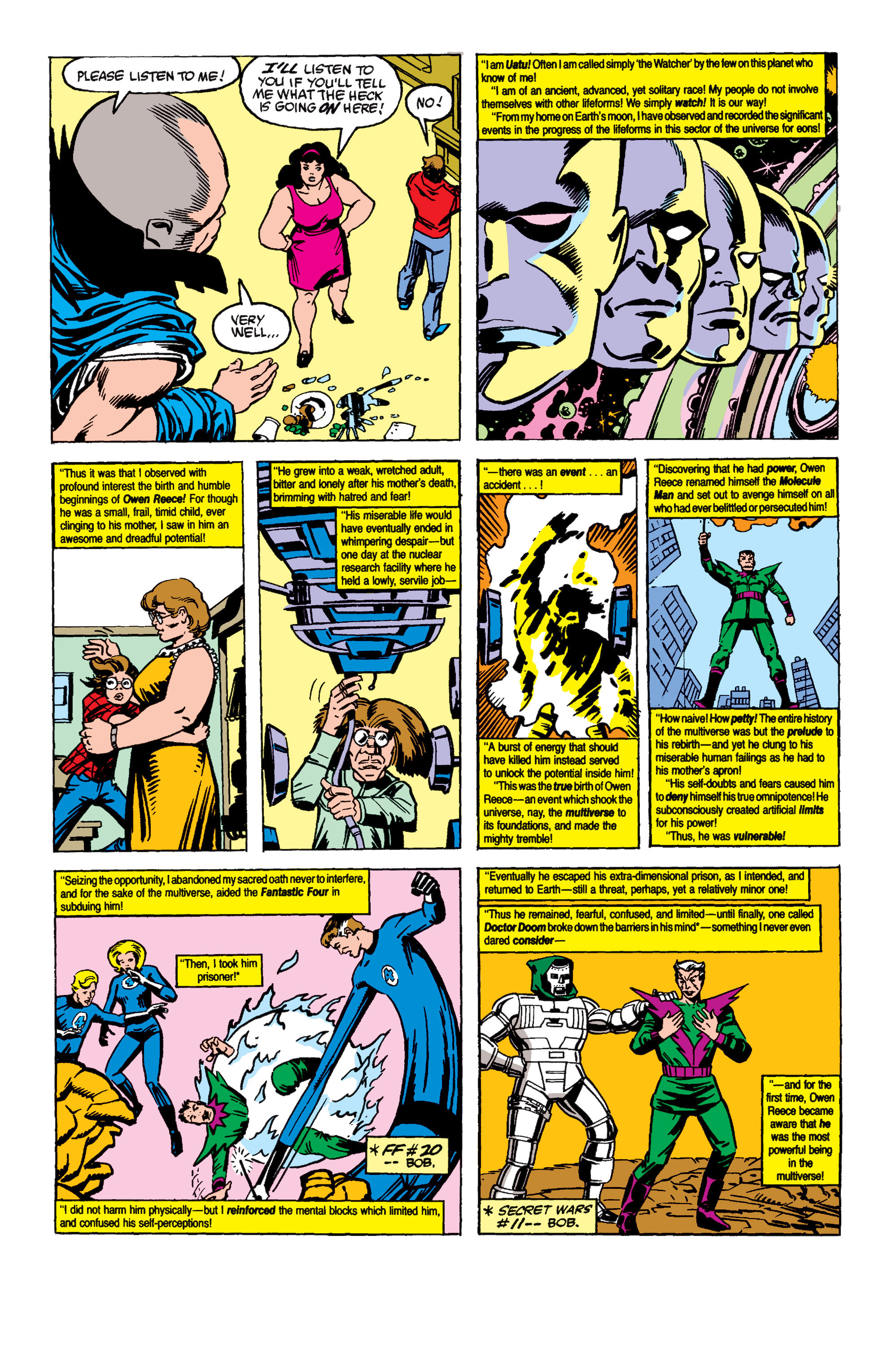 Read online Secret Wars II comic -  Issue #6 - 13