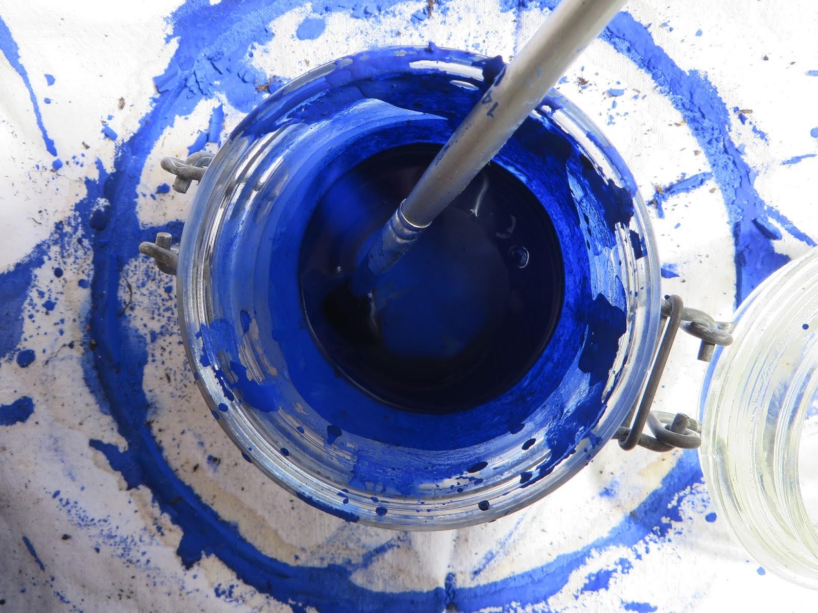 achat peinture bleu majorelle fabulous yves with achat. Black Bedroom Furniture Sets. Home Design Ideas