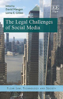 Book Review: The Legal Challenges of Social Media
