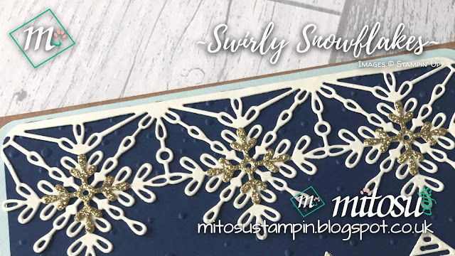 Stampin' Up! Swirly Snowflakes & Hometown Greetings order craft supplies from Mitosu Crafts UK ONline Shop