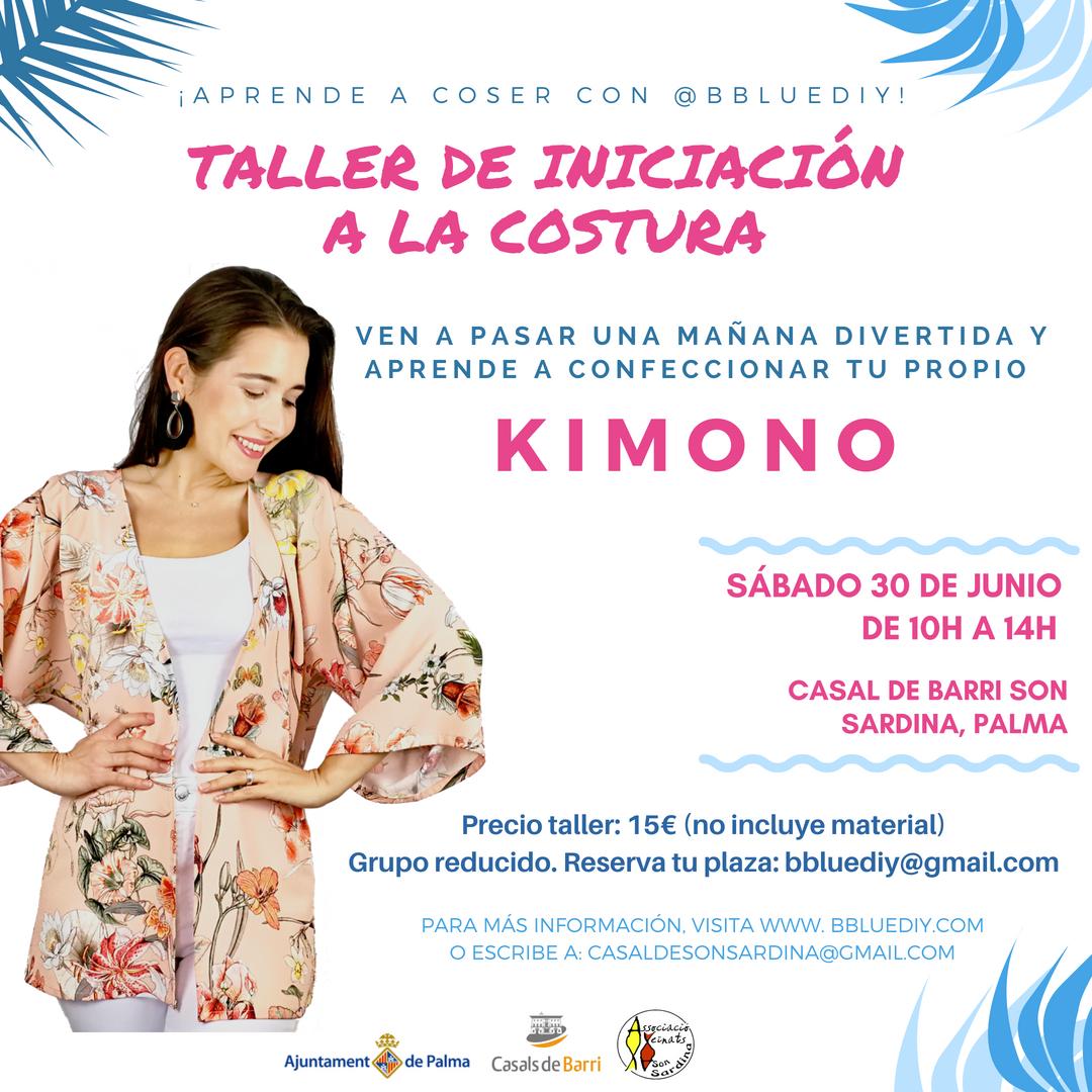 Taller Iniciación a la Costura | KIMONO