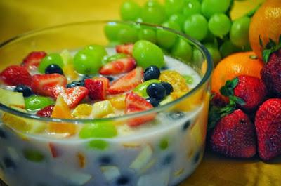 Minuman es buah segar