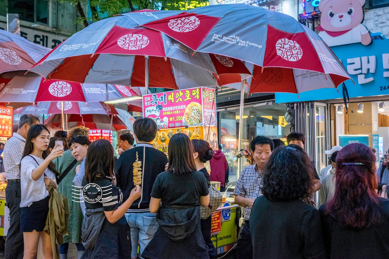 BIFF Square Busan Heaven For Street Food