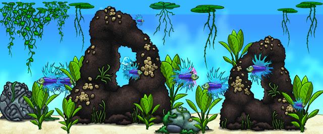 онлайн рыбки, виртуальный аквариум, мирчар