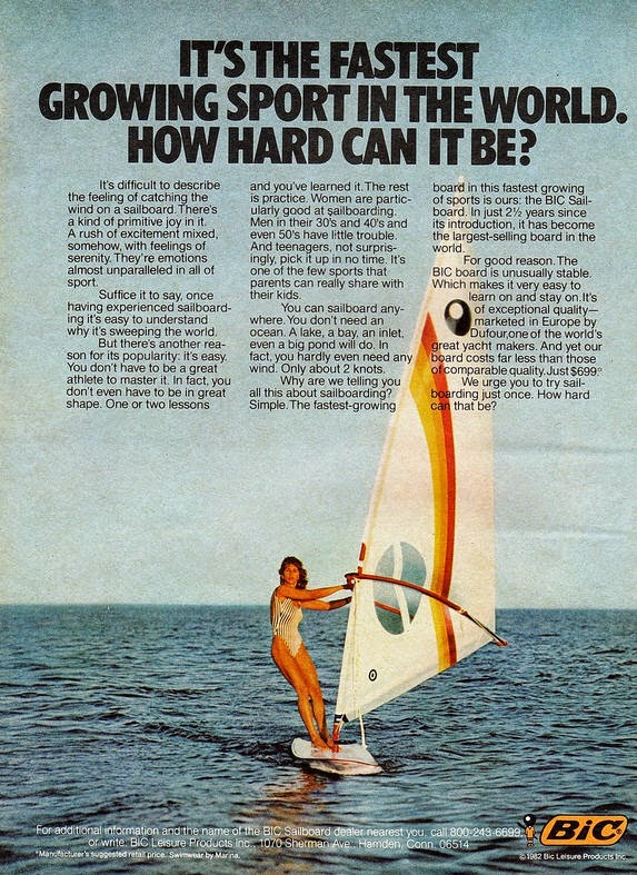 average joe windsurfer