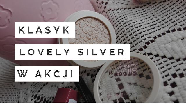 Klasyk w akcji- rozświetlacz Lovely Silver
