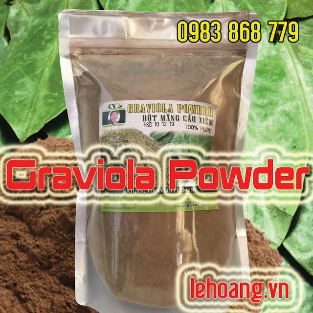 Bột Mãng cầu xiêm (Graviola Powder)