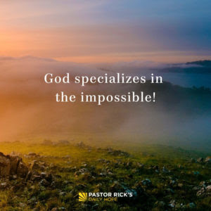 When God Appoints You, He Anoints You by Rick Warren
