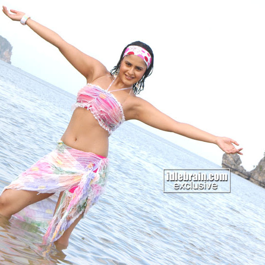 Farzana hot navel show photos