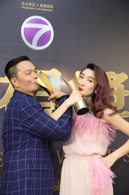 最佳男主角:温绍平《阿爸》&最佳女主角:张惠虹《记忆中的菜单》