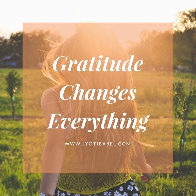 Attitude of Gratitude - Looking Back at Jan to April 2018  #GratitudeCircle