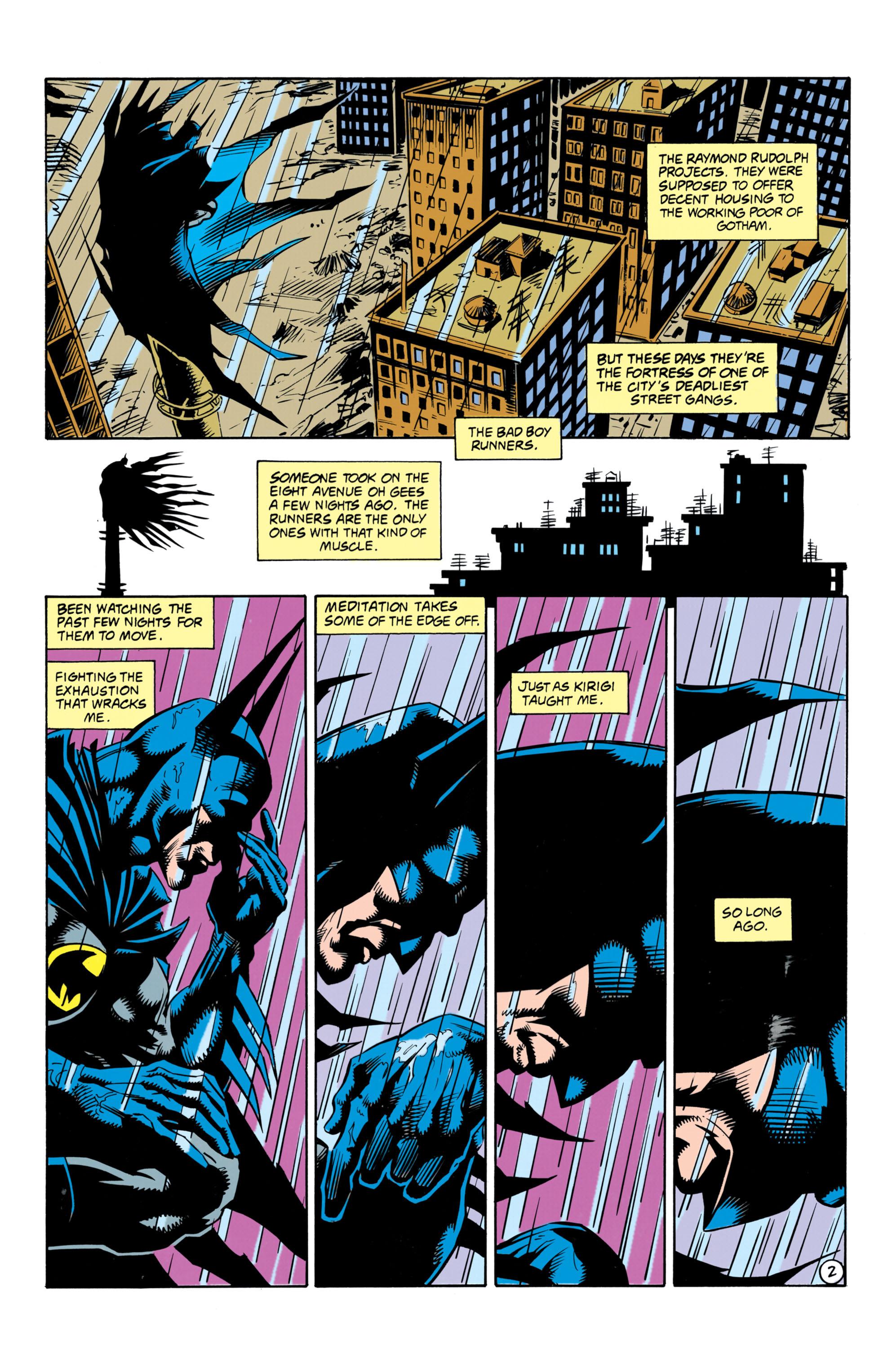 Psychology of Bruce Wayne RCO003