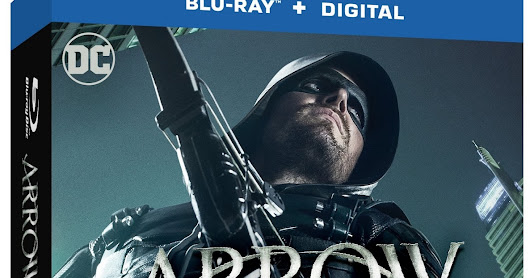 'Arrow: The Complete Fifth Season' Arrives on Blu-ray/DVD Today