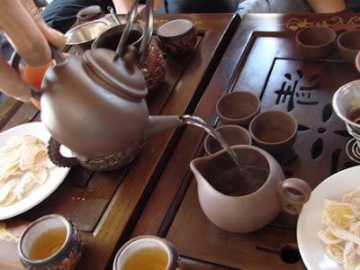 Uống trà hoa tam thất - xua tan nỗi lo mất ngủ, khó ngủ