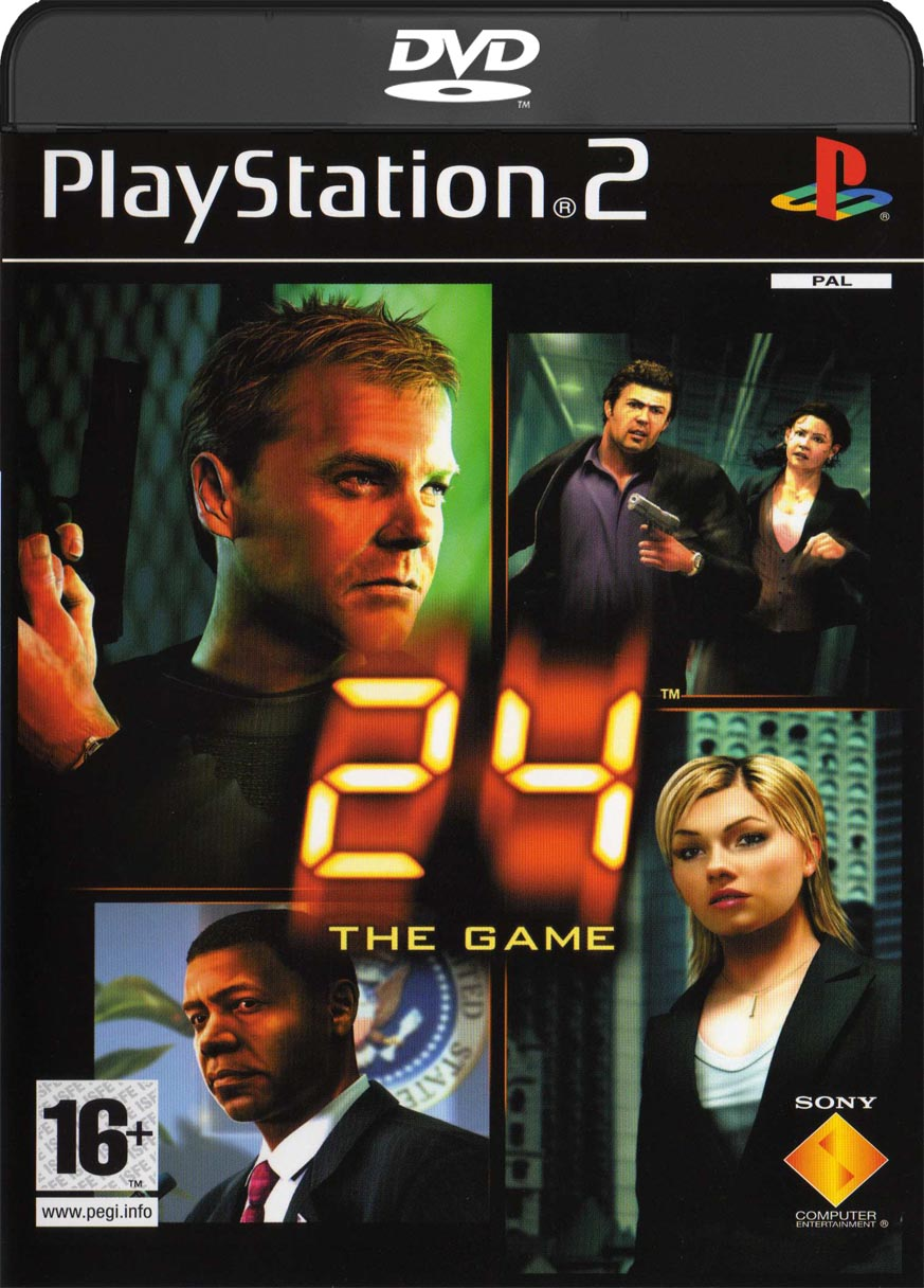 24: The Game (2006) Jogo PlayStation 2