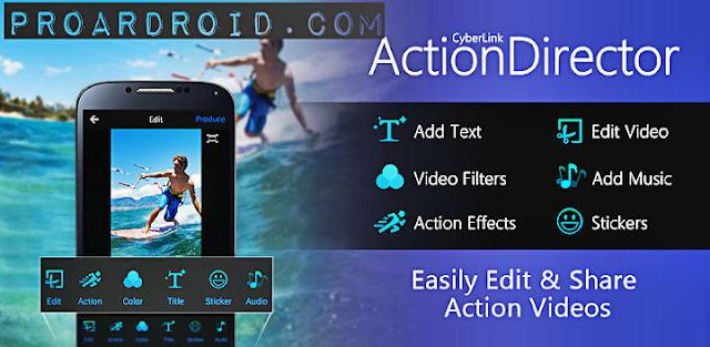 تطبيق ActionDirector Video Editor Full v2.13.0 لتعديل الفيديو نسخة كاملة للأندرويد logo