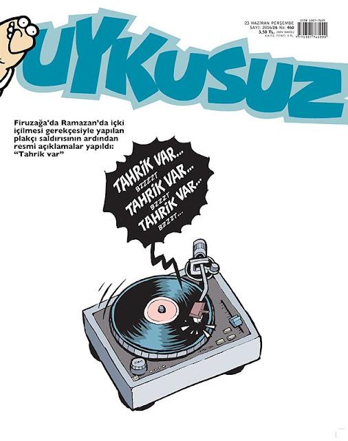 Uykusuz Dergisi - 23 Haziran 2016 Kapak Karikatürü
