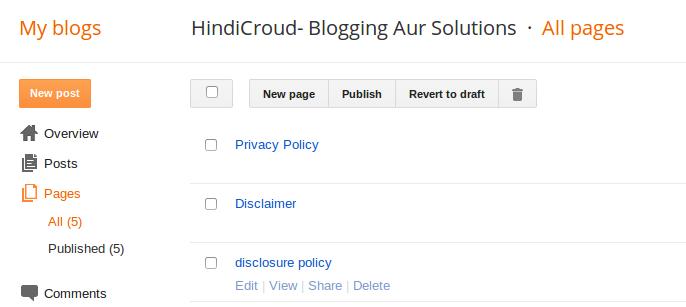 html sitemap page blogspot blog ke liye kaise banaye hindicroud
