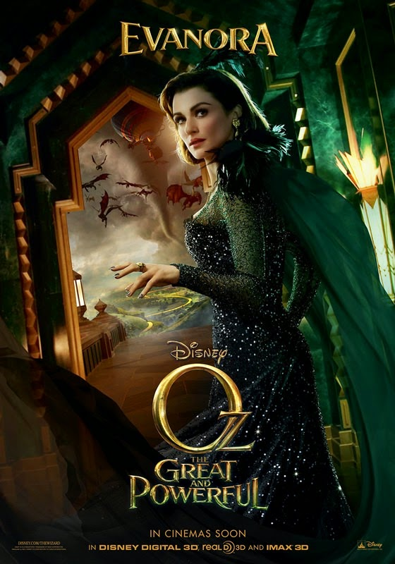 oz the great and powerful rachel weisz