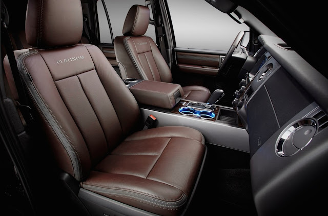 2015 Ford Expedition Platinum interior