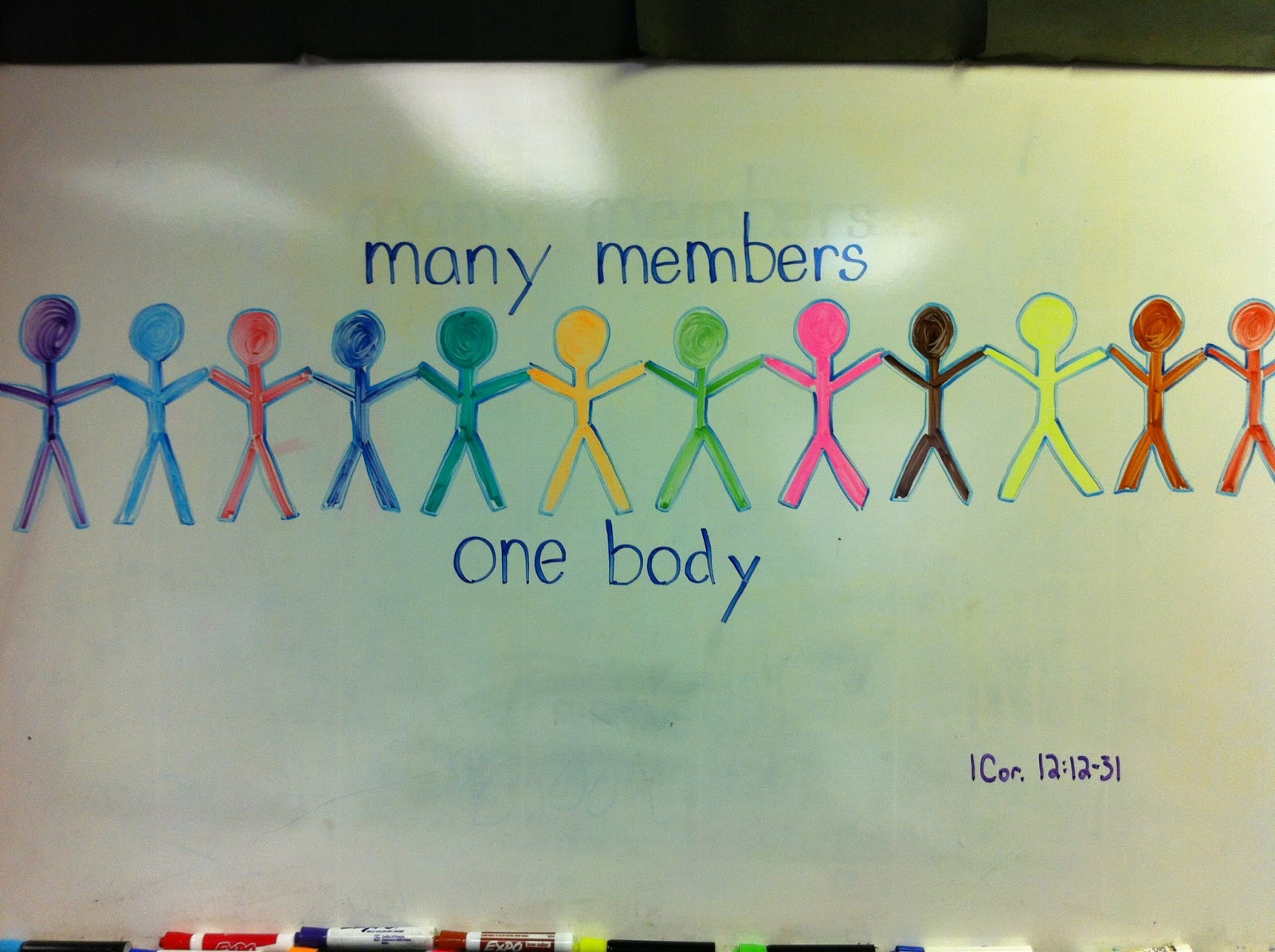 This Christmas Love 1 Corinthians 12 31: Rev. Brian Blogs: Whiteboard: One Body