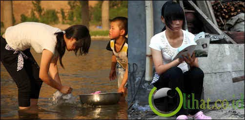 Wang Lin Na dari Songxian - Petani Gandum