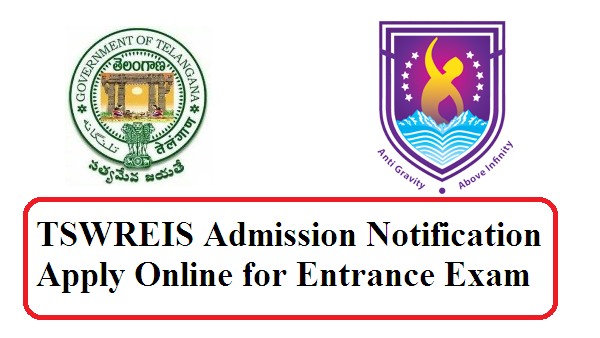 TSWREIS Admission Notification-2016 Apply Online