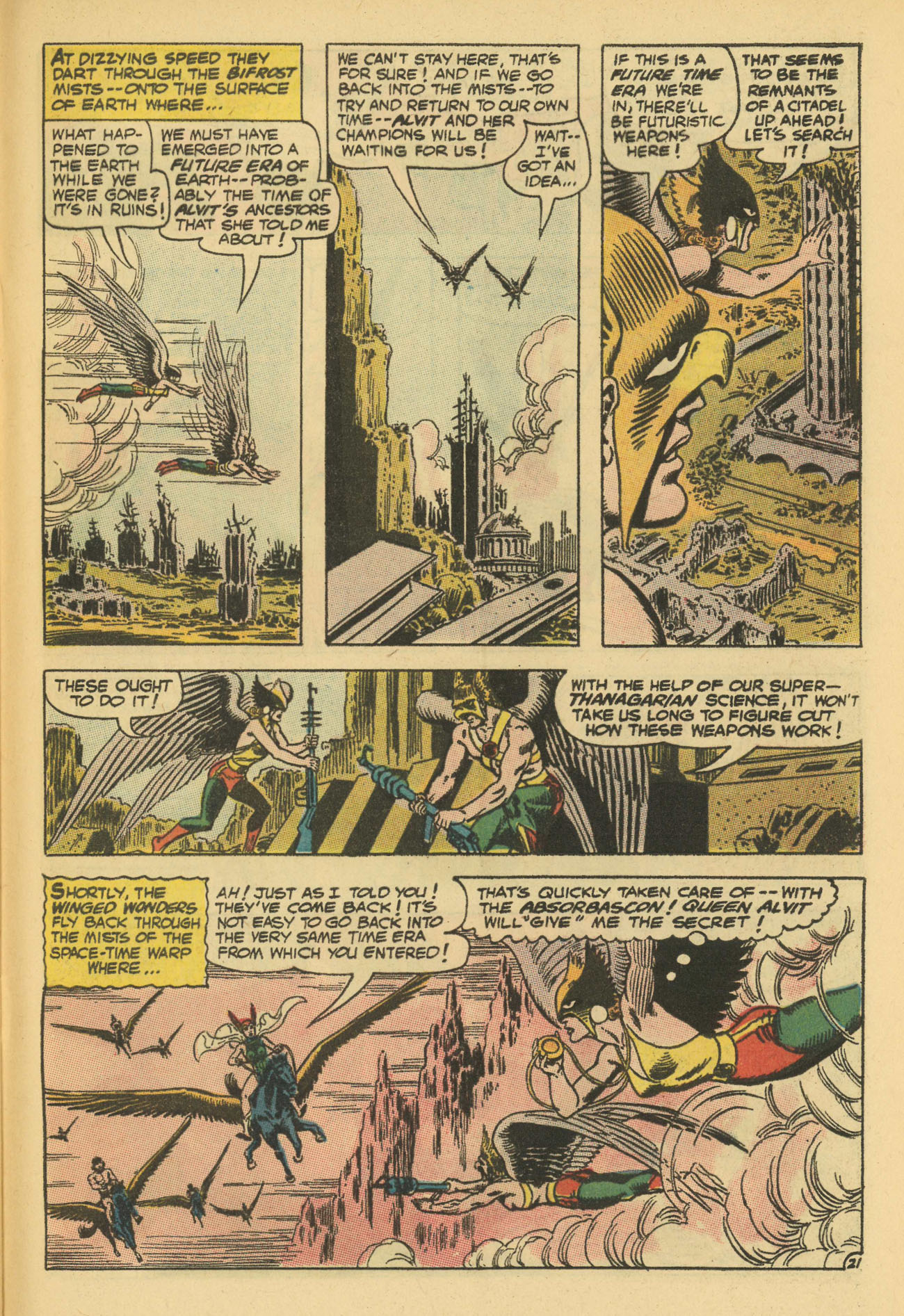 Hawkman (1964) issue 13 - Page 29