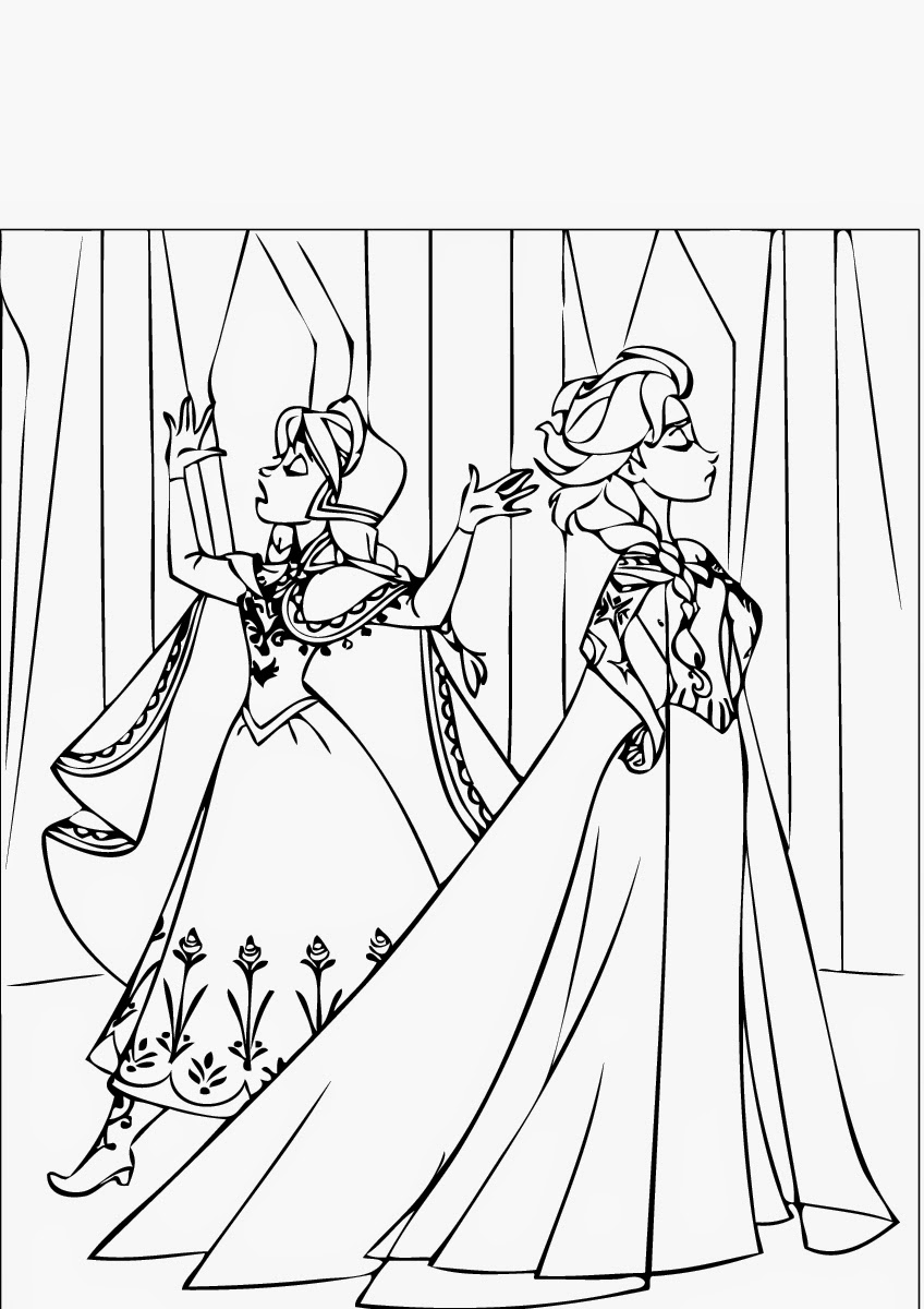 September 2014 instant knowledge for Coloring pages printable frozen