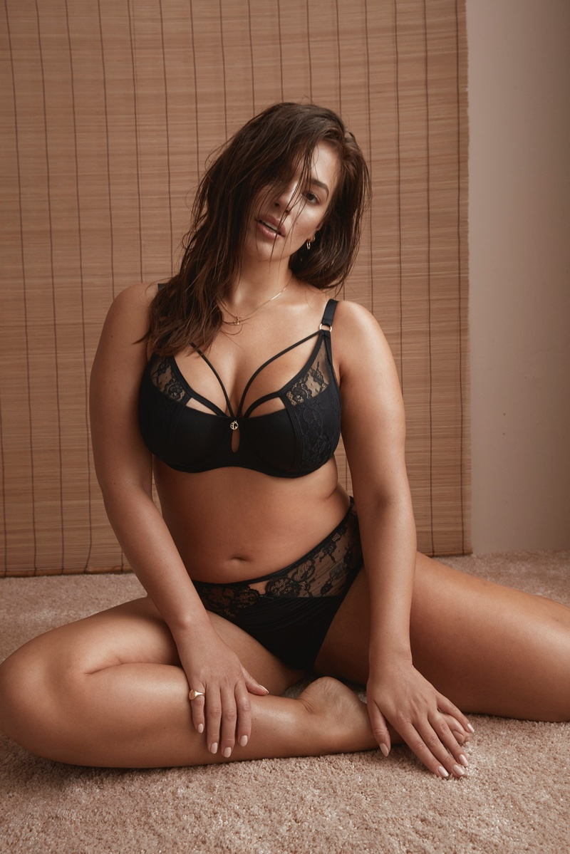 b65281056 Ashley Graham turns up the heat for Addition Elle Lingerie Campaign