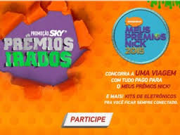 Promoção Sky Prêmios Irados