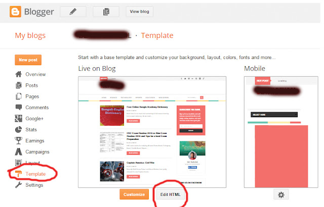 blogspot template