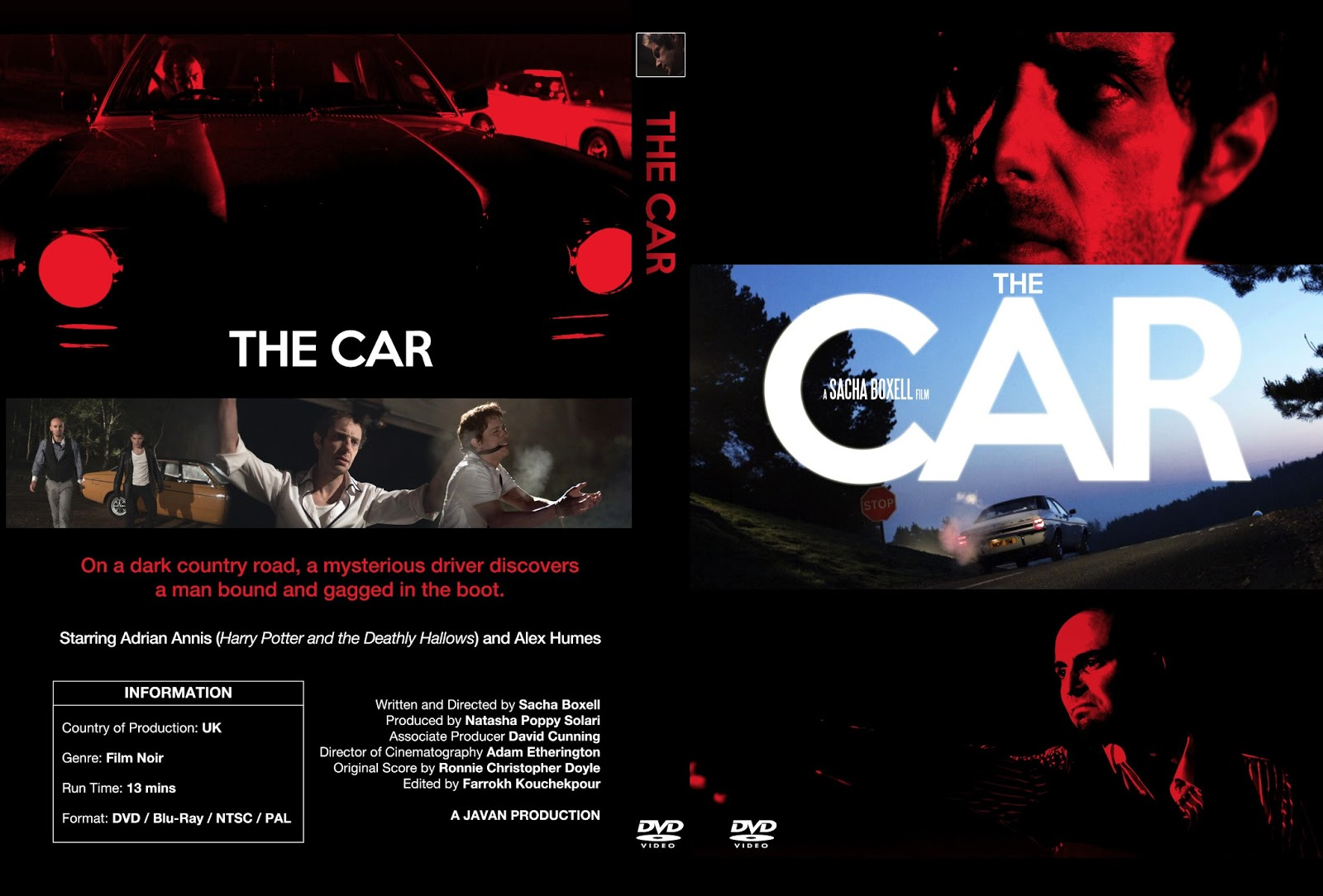 Car DVD Cover Design