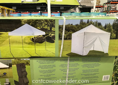 ProShade Pop-Up Canopy: great for backyard bbqs, tailgating, and picnics