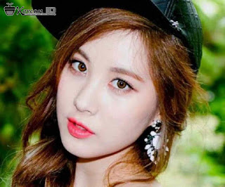 Foto Keren Seohyun Girls Generation pakai topi