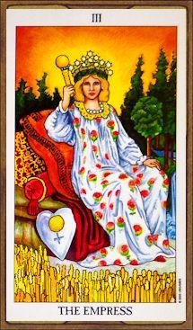 """Significado de """"La Emperatriz"""" del Tarot Rider Waite"""